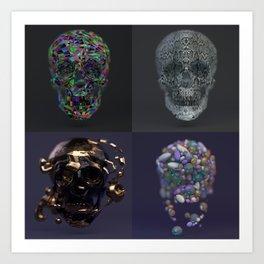 Skull Collection 02 Art Print