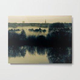 Mystic haze. Metal Print