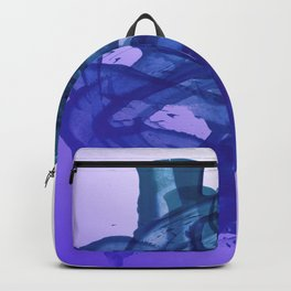 Blue Violet Bends Backpack
