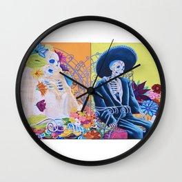 May We Never Part Wall Clock