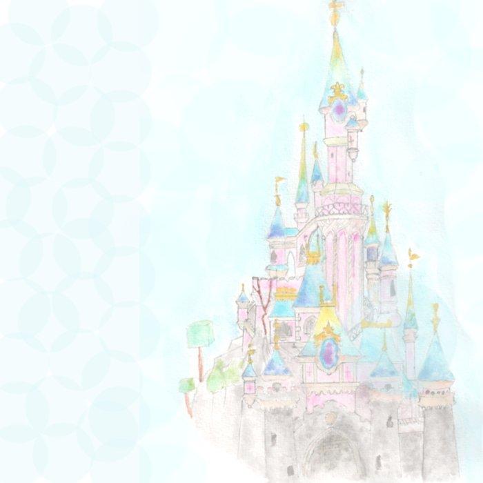Castle of Sleeping beauty Duvet Cover