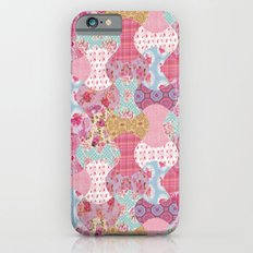Apple core flowers iPhone 6s Slim Case