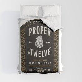Proper Twelve Irish Whiskey Logo Comforters