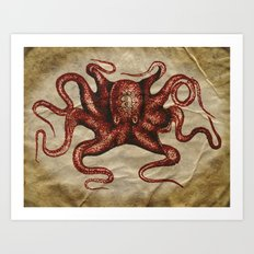 ä Octopus  Art Print