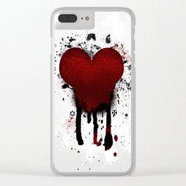 Corazon Transgotico Clear iPhone Case