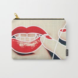 Outline . Face . Lipstick Carry-All Pouch