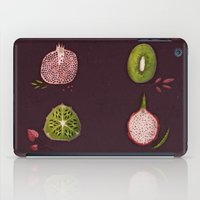 fruits iPad Cases featuring Fruits by Oilikki