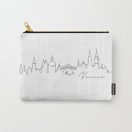 Pen line silhouette Venice Carry-All Pouch