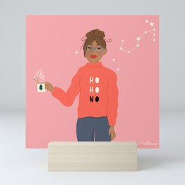 A Very Scorpio Christmas Mini Art Print