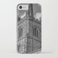 medieval iPhone & iPod Cases featuring Medieval Church by David Pyatt