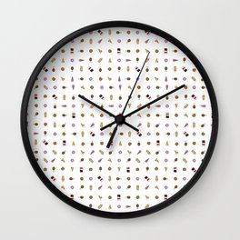 Junk Food Baby Wall Clock