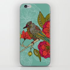 Contented Constance iPhone Skin