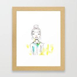 Feline  Framed Art Print