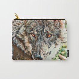 Toony Wolf Carry-All Pouch