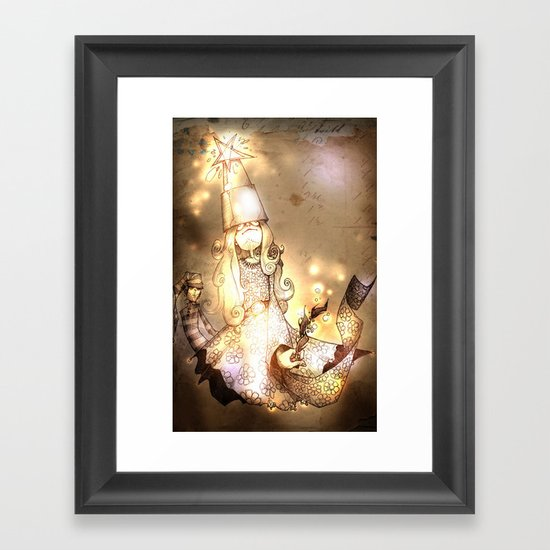 A Christmas Carol Framed Art Print
