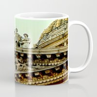 justice Mugs featuring Lady Justice by Biff Rendar
