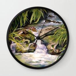Water Oasis Wall Clock