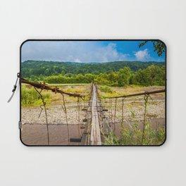 suspension bridge Laptop Sleeve