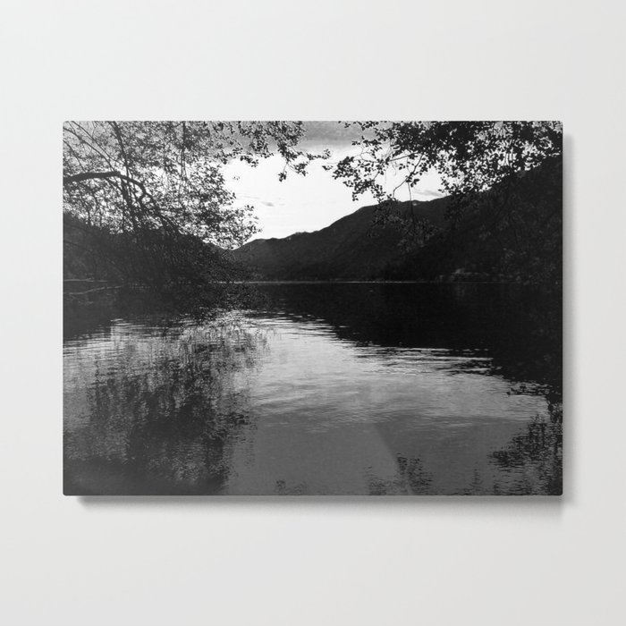 Peace by the Water Metal Print