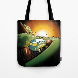 Killer Road Trip  Tote Bag
