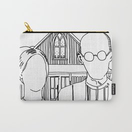 American Gothic Revival Carry-All Pouch