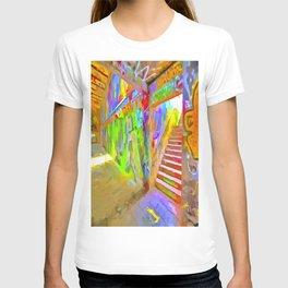 London Graffiti Pop Art T-shirt