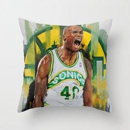 Reign Man Throw Pillow