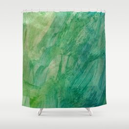 It's easy being green Shower Curtain