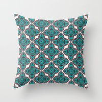 persian Throw Pillows featuring Persian Style! by Tahereh Abdoli