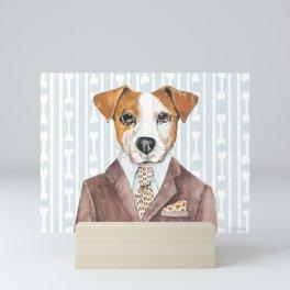 Jacki Russell Mini Art Print