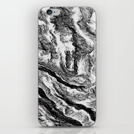 Abstract beauty iPhone Skin