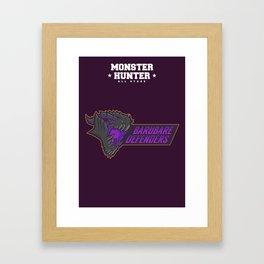 Monster Hunter All Stars - BD Framed Art Print