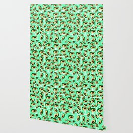 Avocado pattern Wallpaper