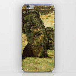 Moai iPhone Skin