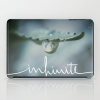 infinite iPad Cases featuring Infinite by Galaxy Eyes
