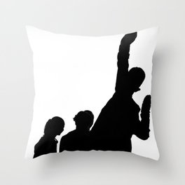 Stretching Thin Throw Pillow