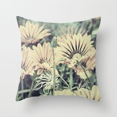 Desert Daisies - Daisy Project in memory of Mackenzie Throw Pillow