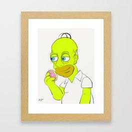 Humer Sampson Framed Art Print