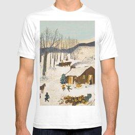 Anna Mary Robertson 'Grandma' Moses Sugaring Off American Folk Art T-shirt