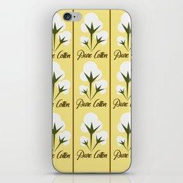 Pure Cotton iPhone Skin