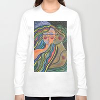lovers Long Sleeve T-shirts featuring lovers by sladja
