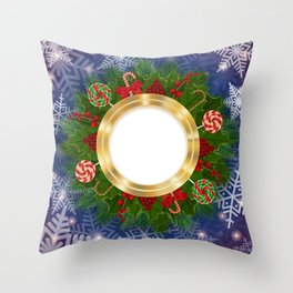 Christmas decoration Throw Pillow