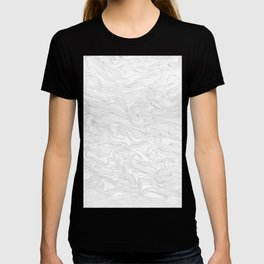 Contour Lines in Grey T-shirt