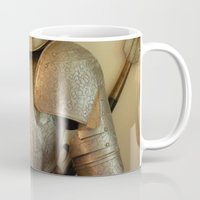 knight Mugs featuring Knight by SlothgirlArt