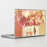 roses Laptop & iPad Skins featuring roses by Beverly LeFevre