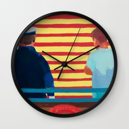 Captain and the Kid Wall Clock