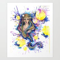 fairy tail Art Prints featuring Fairy Tail by MichaelMaltese
