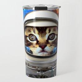Astronaut Cat #2 Travel Mug