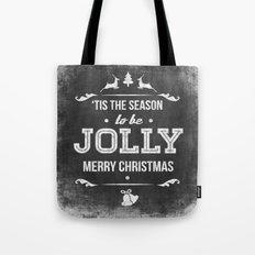 Christmas Chalk Board Tote Bag
