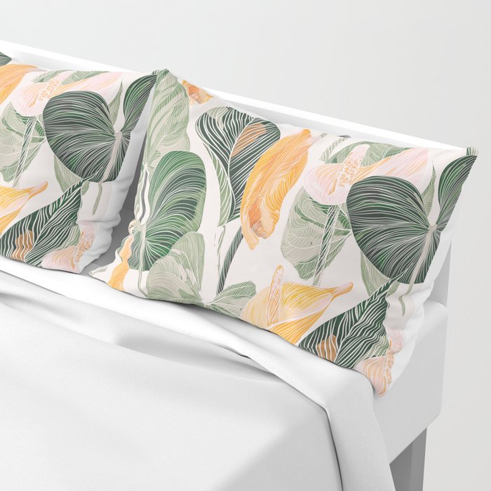 Lush Lily - Autumn Pillow Sham